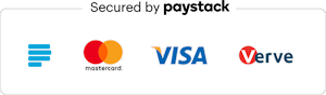 Secured By Paystack